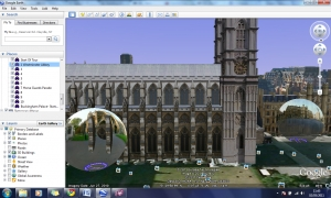 Royal Wedding Google Earth tour image