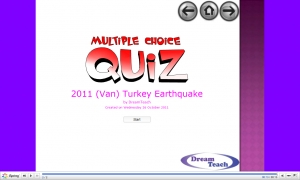 2011 Van (Turkey) earthquake quiz image