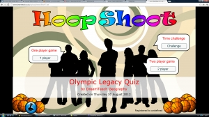 Olympic legacy hoopshoot game image