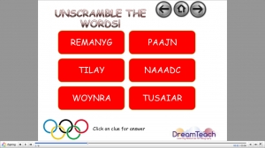 Winter Olympics host anagrams image