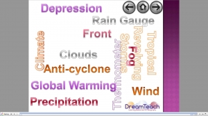 Weather and climate change memory mad image