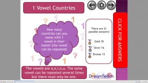 Country vowel starter image