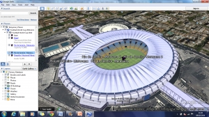 2014 World Cup- grounds Google Earth tour image