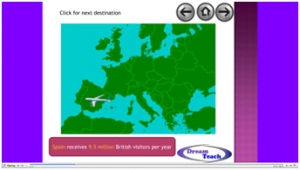 1b) An introduction to tourism- holidays abroad presentation image