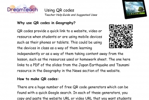 1) Using QR codes user guide image