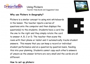 7) Using Plickers User Guide image