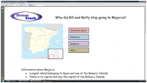 1b) Tourism casestudies- Majorca mystery background information image
