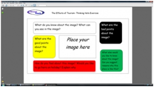 2a) Tourism thinking hats- frame image