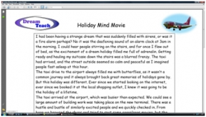 3) Holiday mind movie image