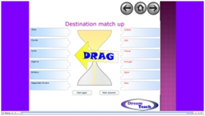 Holiday destination match up image
