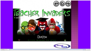 Tourism teacher invaders image