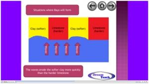 3a) Coastal landforms- bays and headlands