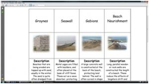 5c) Coastal protection- match up sheet