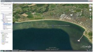2b) Coasts decision making exercise- Google Earth tour image