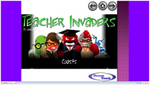 Coasts teacher invaders image