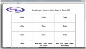 2c) Development demonstration- class cards (30 pupils) image