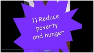 5) Millennium development goals- movie