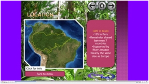 4) The Amazon rainforest- presentation image