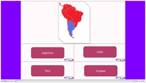 South America country match up image