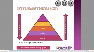 5) Settlement patterns and hierarchy- presentation