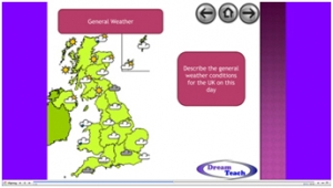 3b) Measuring and forecasting the weather- presenting the weather image