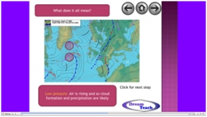 4b) Satellite images and weather systems- weather systems presentation image