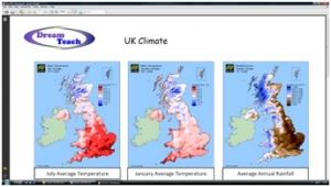 7b) UK climate- worksheet image