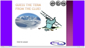 Weather and climate change catchphrase