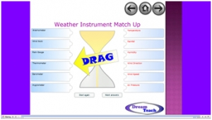 Weather instrument match up