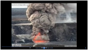 1a) An introduction to earthquakes and volcanoes- movie image