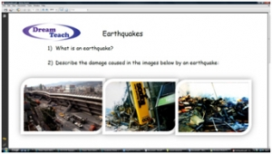 2c) Earthquakes- worksheet image