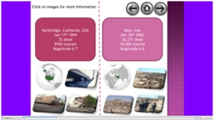 3a) Comparing earthquakes- presentation image
