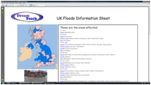 4c) Flooding compared- UK flood information sheet image