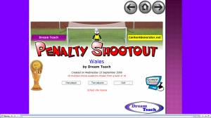 Wales penalty shootout