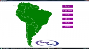 South America country match up