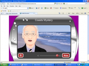 1a) Coasts mystery- hotel mystery secret agent introduction image