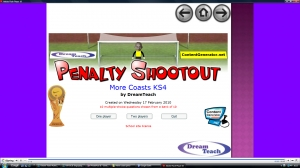 Coastlines penalty shootout 2