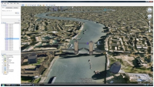 River Thames Google Earth tour image