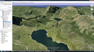 Tourism casestudy- Snowdonia Google Earth tour image