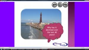 c) Blackpool decline question time