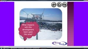 f) Ski development question time