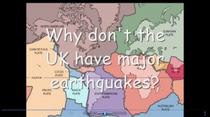 1) An introduction to tectonics- movie KS4