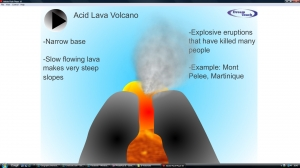 5f) Volcanoes- acid lava volcano animation