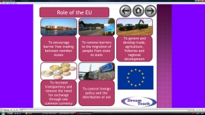 3b) Trade- the EU and the contrasting development within image