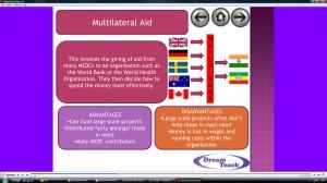 5a) Aid presentation