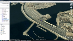 Aid- Aswan Dam Google Earth tour image