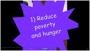 6a) Millenium development goals movie image