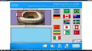 World Cup 2010 playing or not game image