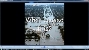 1) Climate change and weather- introductory movie image