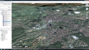 Weather extremes Google Earth tour image